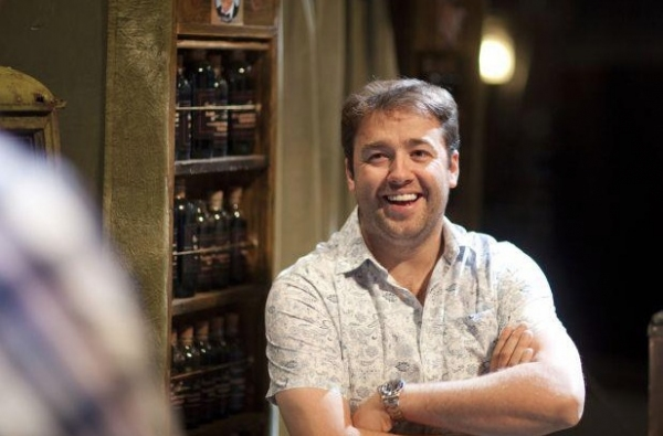 Photo Flash: Sneak Peek - Jason Manford in Rehearsal for SWEENEY TODD
