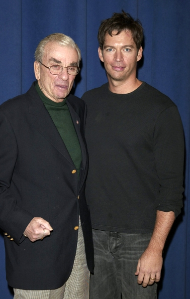 Harry Connick Jr. and Richard Adler at the Duke  Rehearsal Studios on 42nd Street in New York City. December 7, 2005.