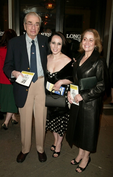 Richard Adler and Family Attending the Opening Night performance of The Roundabout Th Photo
