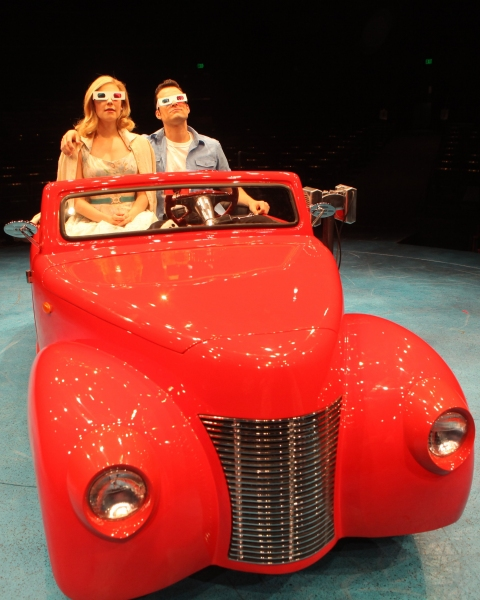 Kirsten Scott and Brandon Albright at First Look at Kirsten Scott and Brandon Albright in Music Circus' GREASE at the Wells Fargo Pavilion