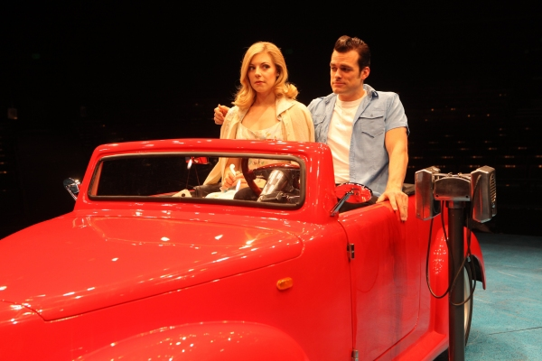 Photo Flash: First Look at Kirsten Scott and Brandon Albright in Music Circus' GREASE at the Wells Fargo Pavilion