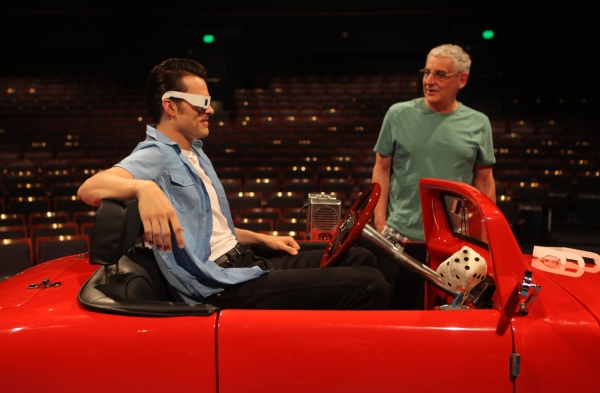 Brandon Albright with Director Glenn Casale at First Look at Kirsten Scott and Brandon Albright in Music Circus' GREASE at the Wells Fargo Pavilion