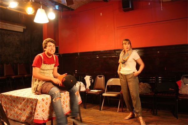 Photo Flash: BREAK MY FACE ON YOUR HAND Closes Rising Phoenix Rep's Cino Nights Series