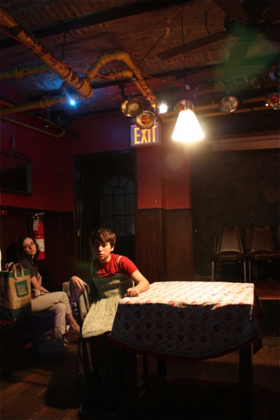 Julie Kline and Noah Galvin Photo
