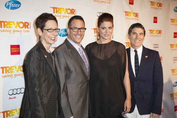 Abbe Land, Michael Mayer, Debra Messing and James Lecesne