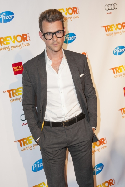 Brad Goreski at The Trevor Project Honors Susan Sarandon - Stanley Tucci, Debra Messing & More!