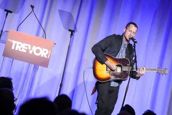 Declan Bennet at The Trevor Project Honors Susan Sarandon - Stanley Tucci, Debra Messing & More!