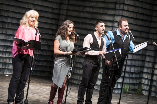Mary Lahti, Theresa Fowler, Aaron J. Libby and Angelo Rios Photo