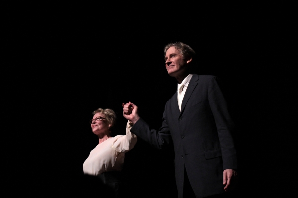 Dianne Wiest, Kevin Kline at Kevin Kline and Dianne Wiest Take Final Bows in 'I TAKE YOUR HAND'