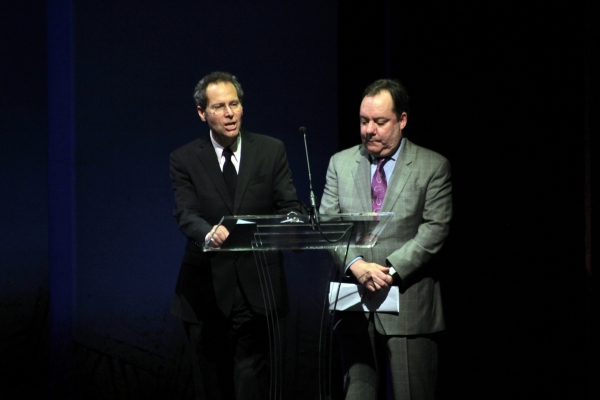 Van Kaplan, James L. Nederlander at Constantine Maroulis & Deborah Cox Host High School Jimmy Awards!