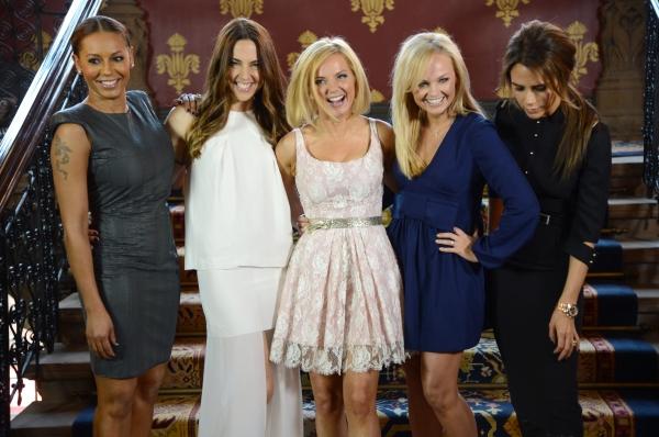 Melanie Brown, Melanie Chisholm, Geri Halliwell, Emma Bunton and Victoria Beckham