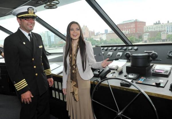 Captain Shawn Ware, Anna Maria Perez de Tagle