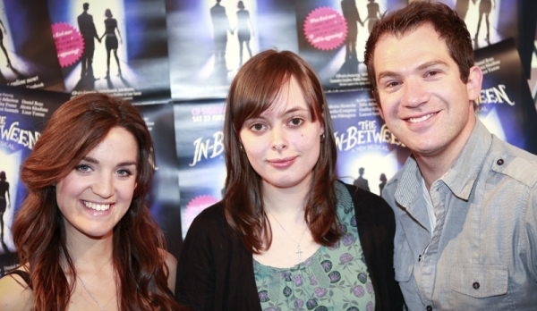 Lauren Samuels, Laura Tisdall and Daniel Boys