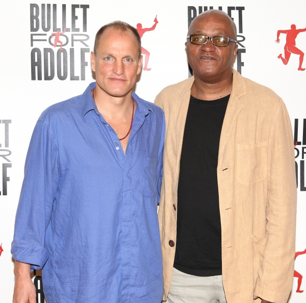 Full Photo Coverage: Woody Harrelson and Cast of BULLET FOR ADOLF Meet the Press!