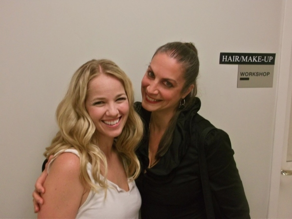 Photo Flash: International PHANTOM OF THE OPERA Star Renée Knapp Visits PHANTOM Las Vegas