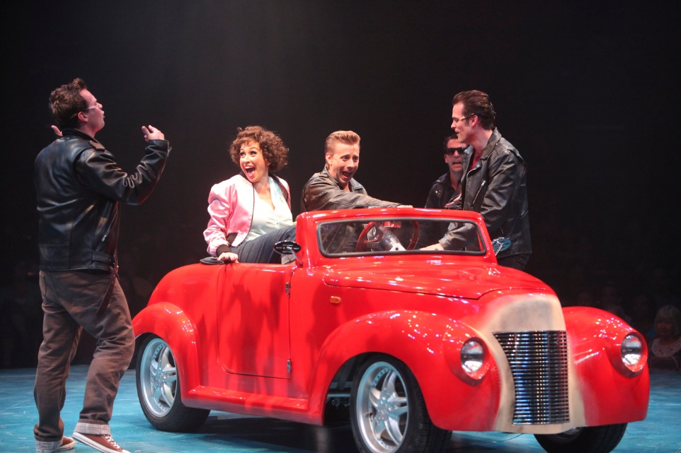 Photo Flash:  Complete Look at Kirsten Scott, Brandon Albright, et al. in Music Circus' GREASE