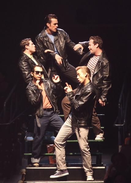 Brandon Albright, Keven Quillon, Michael D. Jablonski, Joe Abraham and John Pinto Jr. Photo
