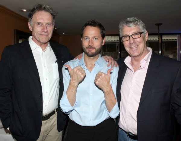 Michael Cullen, Matthew Humphreys & Michael Rupert at 7th MONARCH's Opening Night Gala