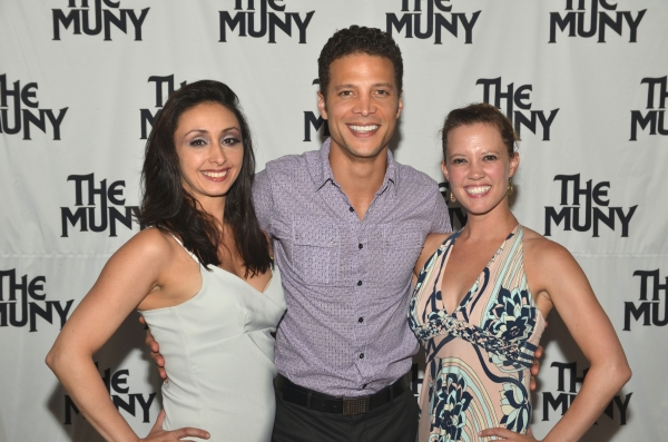 Natascia Diaz, Justin Guarini and Patti Murin at Patti Murin, Justin Guarini and More in CHICAGO Opening Night at The Muny!