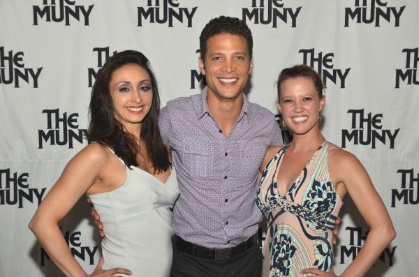 Natascia Diaz, Justin Guarini and Patti Murin at Patti Murin, Justin Guarini and More in CHICAGO Opening Night at The Muny!