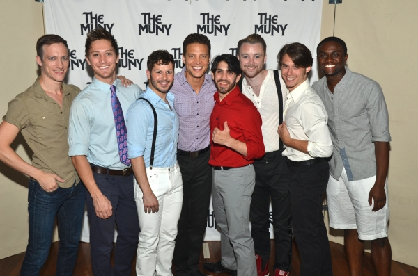Justin Guarini and the cast of CHICAGO at Patti Murin, Justin Guarini and More in CHICAGO Opening Night at The Muny!