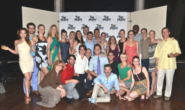 The company of CHICAGO at Patti Murin, Justin Guarini and More in CHICAGO Opening Night at The Muny!