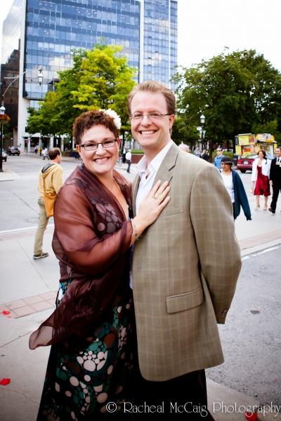Denise Oucharek and Anthony Bastianon