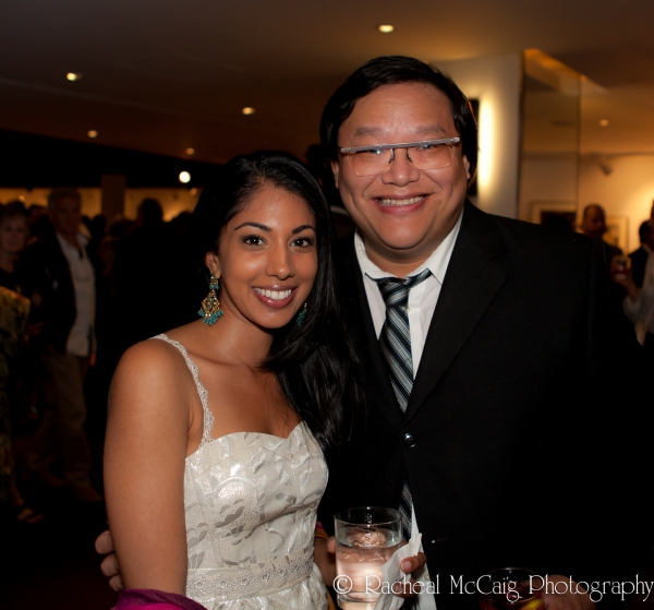 Sarena Parmar and Derrick Chua