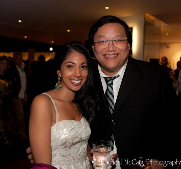 Sarena Parmar and Derrick Chua  Photo