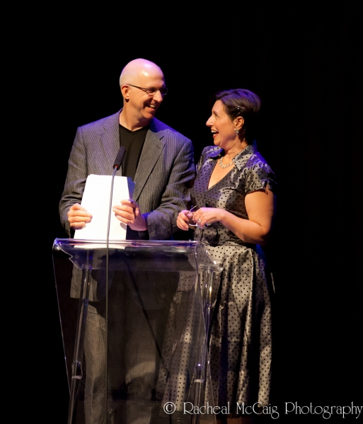 Matthew Jocelyn & Lindsay Leese at 2012 Dora Mavor Moore Awards