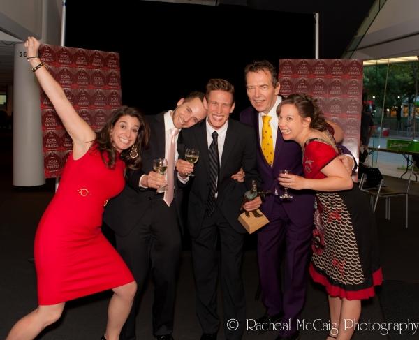 Elena Mosoff, Mitchell Marcus, Elliot Loran, Andy McKim, Kendra Fry Photo