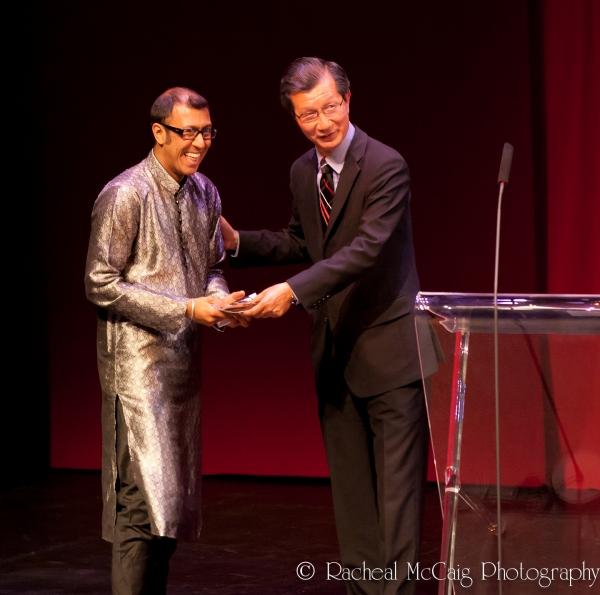 Ravi Jain and Honourable Michael Chan
