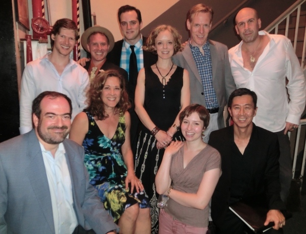 Jack Lechner and the cast Photo