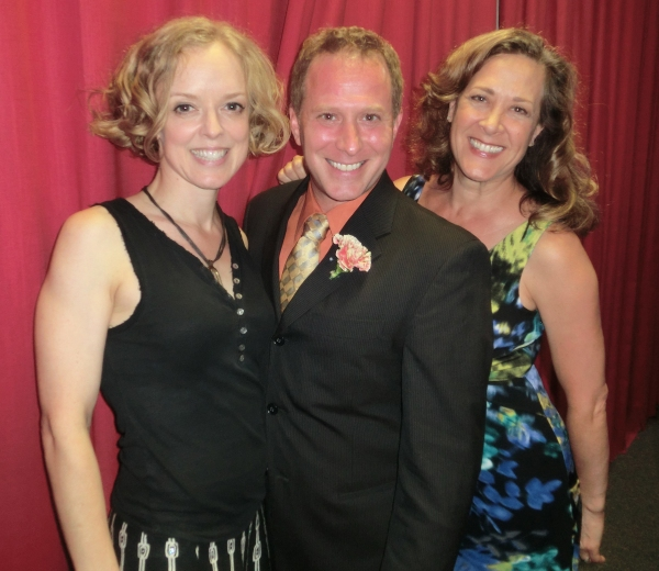 Nancy Anderson, Desmond Dutcher and Karen Ziemba at Broadway at Birdland's Latest Cast Party and the Songs of Jack Lechner!