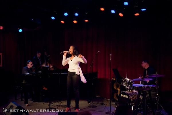 Alana Adderly at Broadway at Birdland's Latest Cast Party and the Songs of Jack Lechner!