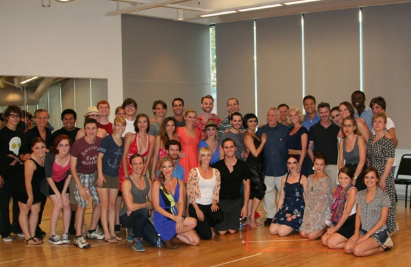 John Kander and the cast of CHICAGO at John Kander Joins The Muny Hall of Fame
