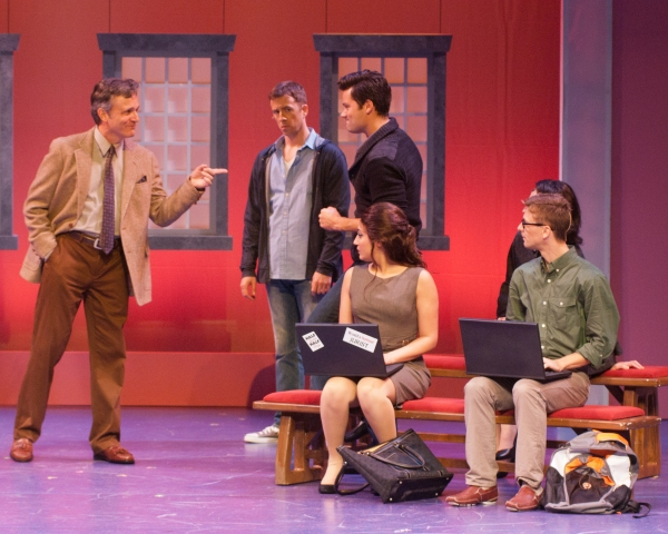 Ken Land, Chuck Ragsdale, Matthew Ragas, Allie Pizzo, Buddy Reeder at First Look at Alex Ellis, et al. in MSMT's LEGALLY BLONDE
