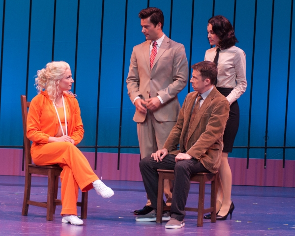 Jessica Lee Goldyn, Matthew Ragas, Lauren Blackman, Chuck Ragsdale at First Look at Alex Ellis, et al. in MSMT's LEGALLY BLONDE