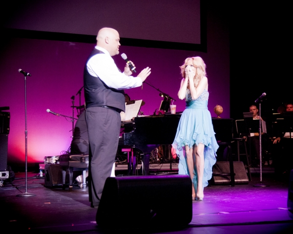 Mark Frie and Kristin Chenoweth