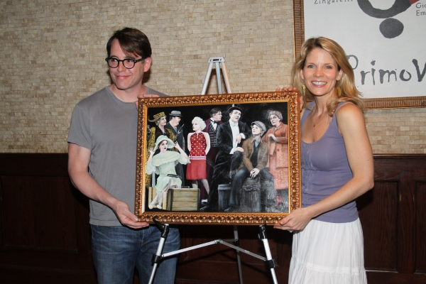 Photo Coverage: Tony's di Napoli Inducts NICE WORK IF YOU CAN GET IT onto Broadway Wall Of Fame!
