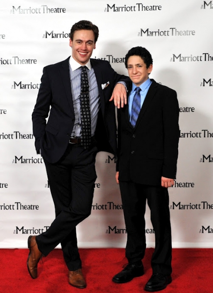 Erich Bergen and Jonah Rawitz