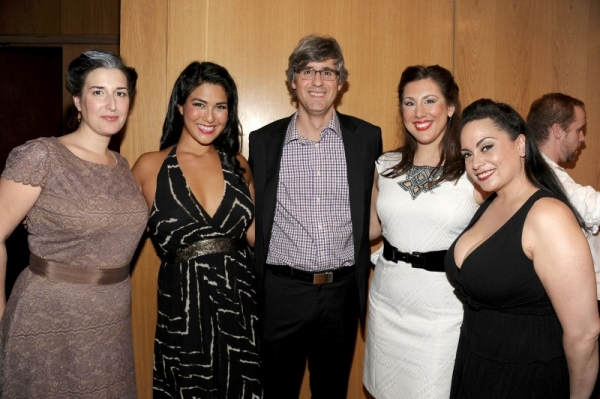 Photo Flash: Mo Rocca Visits Dicapo Opera Theatre