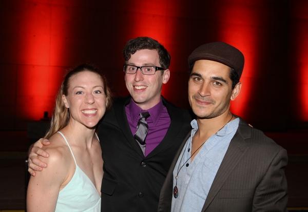 Jessica Krueger, Jon Riddleberger and Gregory Manley
