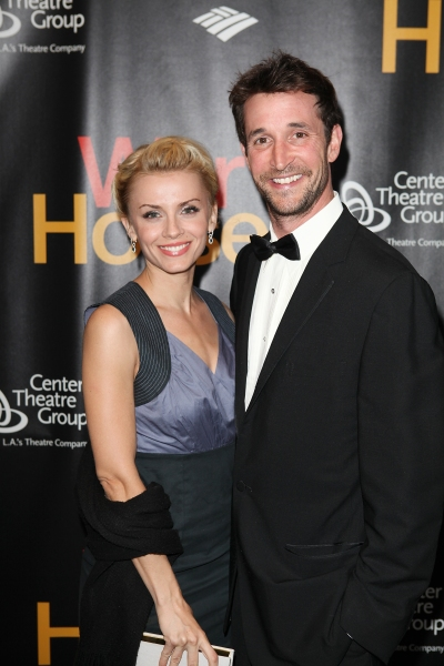 Sara Wells and Noah Wyle at The Stars Walk the Red Carpet for WAR HORSE Opening Night in LA!