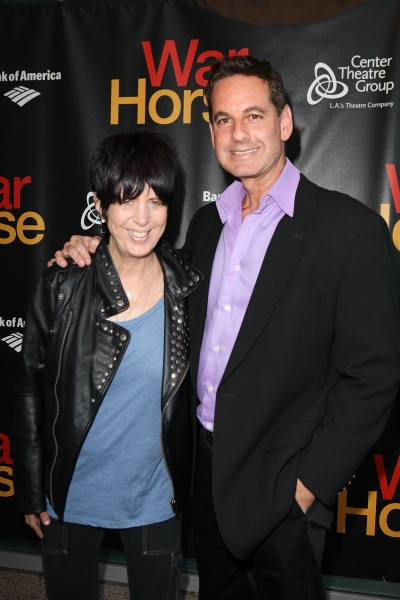 Diane Warren and Michael Anthony