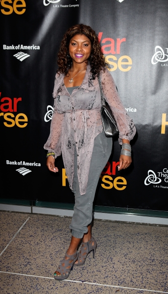 Taraji P. Henson at The Stars Walk the Red Carpet for WAR HORSE Opening Night in LA!