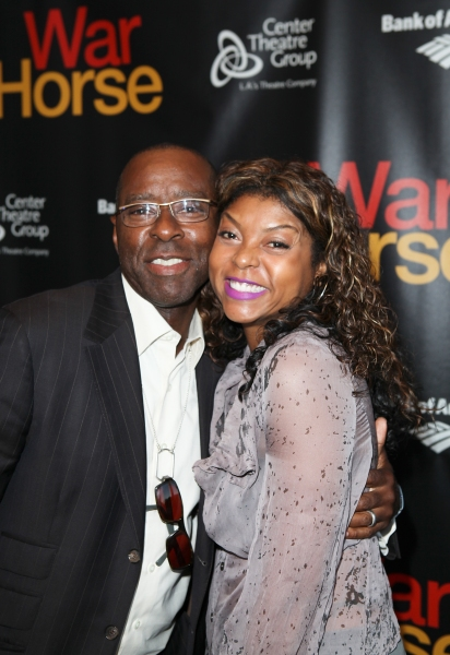 Taraji P. Henson and Courtney B. Vance