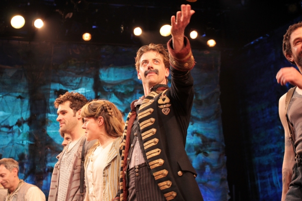 Photo Coverage: An Emotional and Funny Farewell to Christian Borle from PETER AND THE STARCATCHER