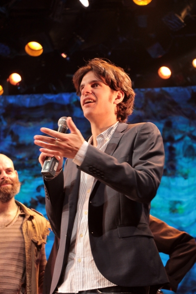 Alex Timbers at An Emotional and Funny Farewell to Christian Borle from PETER AND THE STARCATCHER