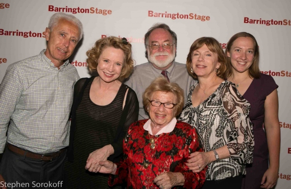 Pierre Lehu, Debra Jo Rupp, Mark St. Germain, Julianne Boyd, Kate Cudworth, Dr. Ruth at Mark St. Germain's DR. RUTH, ALL THE WAY Opens at Barrington Stage Company